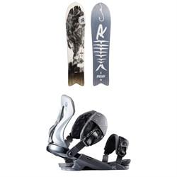 Rossignol XV Sushi LF White Label Snowboard + XV Snowboard Bindings 2020