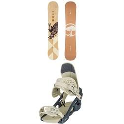 Arbor Cadence Rocker Snowboard + Acacia Snowboard Bindings - Women's 2021