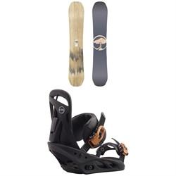 Arbor Swoon Camber Snowboard + Burton Scribe Snowboard Bindings - Women's