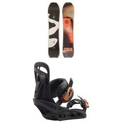Ride Psychocandy Snowboard + Burton Scribe Snowboard Bindings - Women's