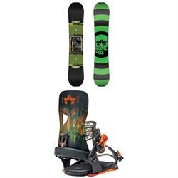Rome Agent Snowboard + Crux Snowboard Bindings 2021