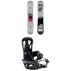 Rome Mechanic Snowboard ​+ United Snowboard Bindings 2021