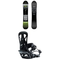 Rome Warden Snowboard ​+ United Snowboard Bindings 2021