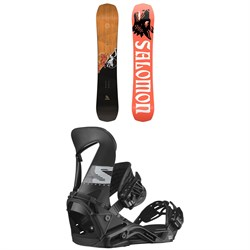 Salomon Assassin Snowboard + Hologram Snowboard Bindings 2021