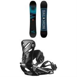 Salomon Pulse Snowboard + Rhythm Snowboard Bindings 2021