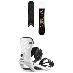 Salomon Sight Snowboard ​+ Rhythm Snowboard Bindings 2021