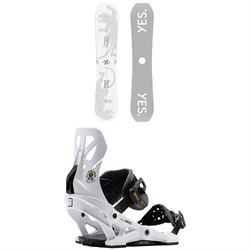 Yes. Dicey Snowboard ​+ Now Brigade Snowboard Bindings 2021