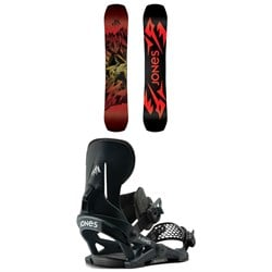 Jones Mountain Twin Snowboard ​+ Mercury Snowboard Bindings 2021