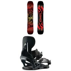 Jones Mountain Twin Snowboard + Mercury Snowboard Bindings 2021