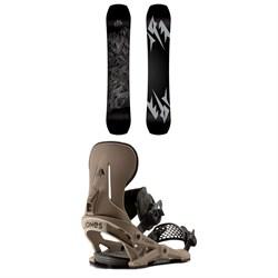 Jones Ultra Mountain Twin Snowboard + Mercury Snowboard Bindings 2021
