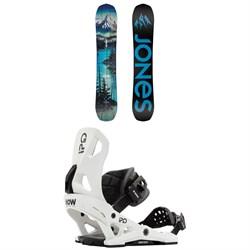 Jones Frontier Snowboard + Now IPO Snowboard Bindings 2021