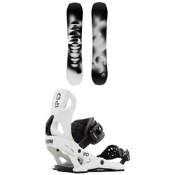 Yes. Standard Snowboard ​+ Now IPO Snowboard Bindings 2021