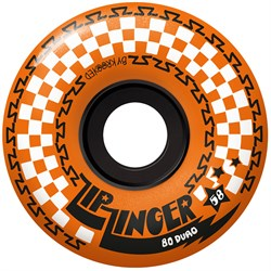 Krooked Zip Zinger 80HD Orange Skateboard Wheels