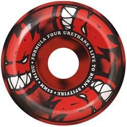 Spitfire Formula Four 101d Afterburner Red/Black Swirl Conical Full Skateboard Wheels
