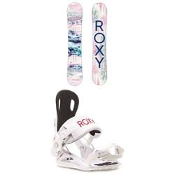 Roxy Sugar Banana Snowboard + Rock-It Dash Snowboard Bindings - Women's 2021