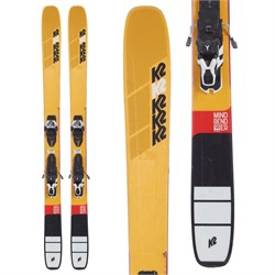 K2 Mindbender 108Ti Skis ​+ Warden 13 Demo Bindings 2020 - Used