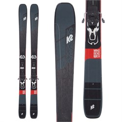 K2 Mindbender 99Ti Skis ​+ Warden 13 Demo Bindings 2020 - Used