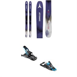 Atomic Backland 102 W Skis - Women's ​+ Salomon S​/Lab Shift MNC Alpine Touring Ski Bindings