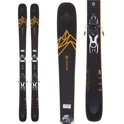 Salomon QST 92 Skis + Warden 11 Demo Bindings  - Used