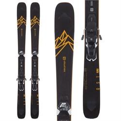Salomon QST 92 Skis + Warden 13 Demo Bindings  - Used