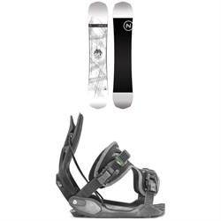 Nidecker Era Snowboard + Flow Alpha Snowboard Bindings 2020