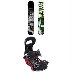Lib Tech Skunk Ape HP C2 Snowboard + Bent Metal Transfer Snowboard Bindings