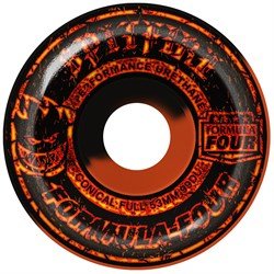 Spitfire Formula Four 99d Embers Black/Orange Swirl 50/50 Classics Skateboard Wheels