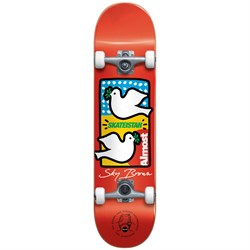 Almost Sky Brown Double Doves Skateistan 7.5 Skateboard Complete - Big Kids'