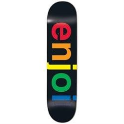 Enjoi Spectrum Black R7 8.25 Skateboard Deck