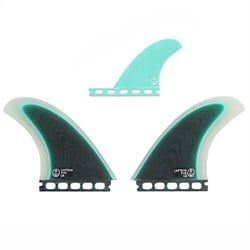 Captain Fin CF Twin Especial Single Tab Twin Fin Set