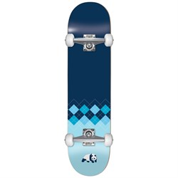 Enjoi Argyle FP Blue 7.625 Skateboard Complete - Kids'