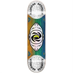 Madness Minds Eye Popsicle Slick Blue/Orange 8.125 Skateboard Deck