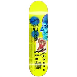 Madness Skinned R7 Neon Yellow 8.75 Skateboard Deck