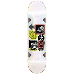 Madness Schizo R7 Pearl White 8.5 Skateboard Deck