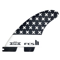 FCS II SB PC Large Tri-Quad Fin Set