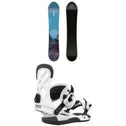 CAPiTA Navigator Snowboard 2021 + Union Contact Pro Snowboard Bindings 2021