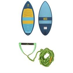 Connelly Habit Wakesurf Board 2020 + Proline x evo LGS Surf Handle + 25 ft Air Line