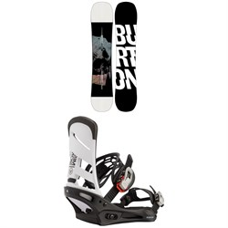 Burton Instigator Snowboard + Mission Snowboard Bindings 2021