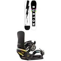 Burton Custom Snowboard + Cartel X EST Snowboard Bindings 2021