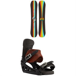 Burton Free Thinker Snowboard + Malavita EST Snowboard Bindings 2021