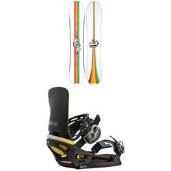 Burton Deep Thinker Snowboard ​+ Cartel X EST Snowboard Bindings 2021