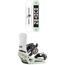 Burton Kilroy Twin Snowboard + Cartel X EST Snowboard Bindings 2021