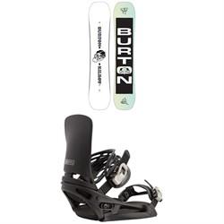 Burton Kilroy Twin Snowboard + Cartel EST Snowboard Bindings 2021