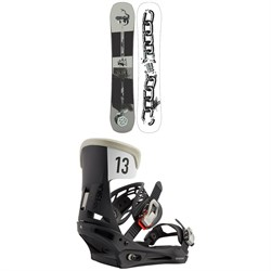 Burton Name Dropper Snowboard ​+ Mission Snowboard Bindings 2021