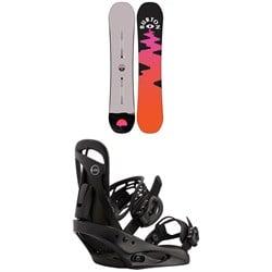 Burton Yeasayer Snowboard + Scribe Snowboard Bindings - Women's 2021
