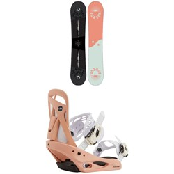 Burton Rewind Snowboard + Scribe Snowboard Bindings - Women's 2021