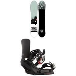 Burton Day Trader Snowboard + Lexa EST Snowboard Bindings - Women's 2021