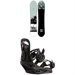 Burton Day Trader Snowboard + Scribe Snowboard Bindings - Women's 2021