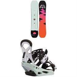 Burton Yeasayer Smalls Snowboard + Smalls Snowboard Bindings - Kids' 2021