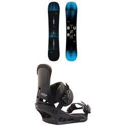 Burton Instigator Snowboard 2019 + Custom Snowboard Bindings